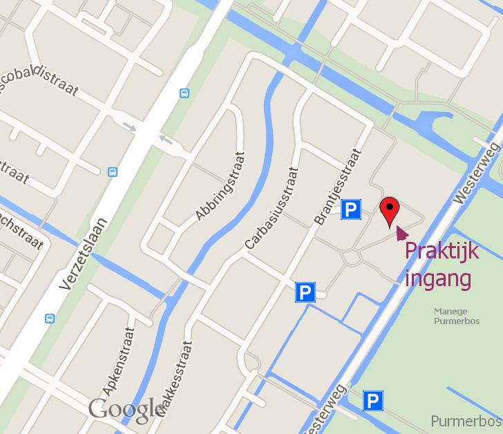 Landkaartje van ECO-wijk De Goedemeent te Purmerend